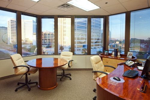 Main VDI Office - with daytime city view